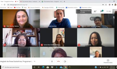Primera Reunión del Ciclo Escolar 2020-2021